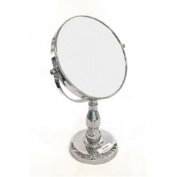 Free Standing Two Sided Magnified Makeup Mirror