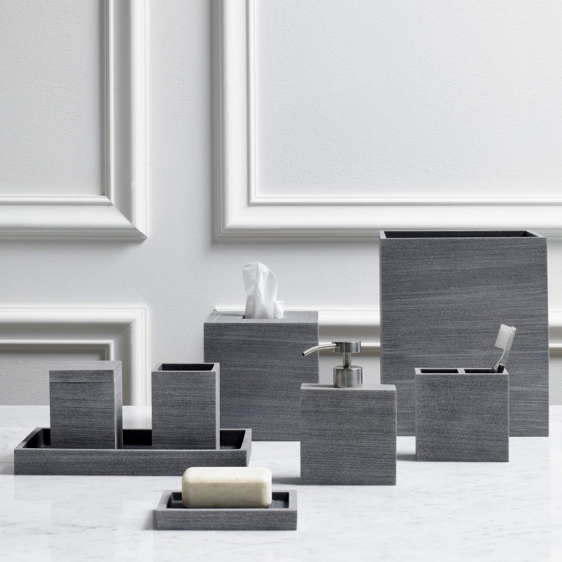 Slate Bathroom Accessories Collection - Slate bathroom accessories